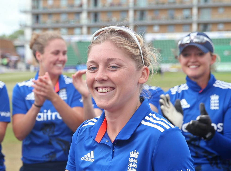 Heather Knight refuses to acknowledge her standing as England's likeliest next captain