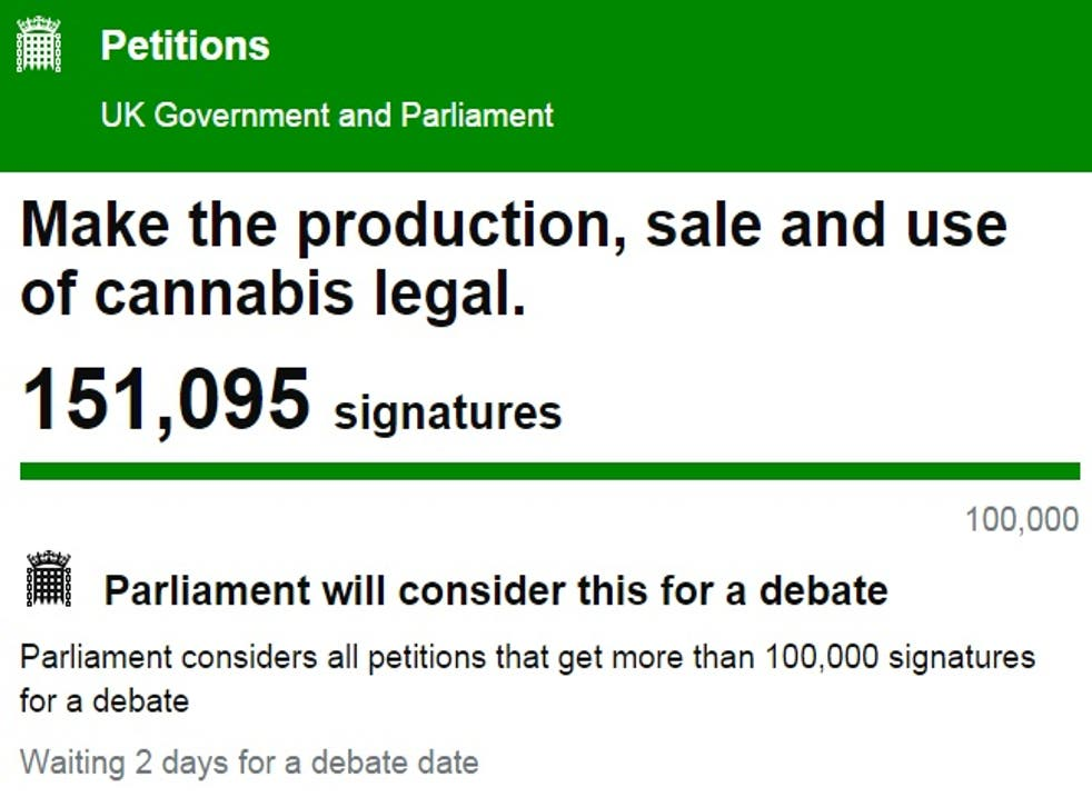 The petition on the morning of 27 July 2015