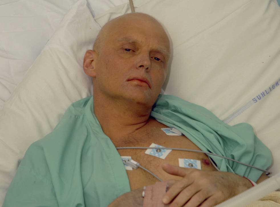 Alexander Litvinenko was a former agent in the Russian FSB
