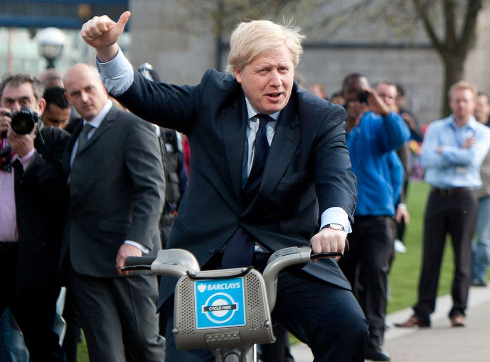 Boris Johnson unwittingly broke the law when giving his wife a lift on his bike