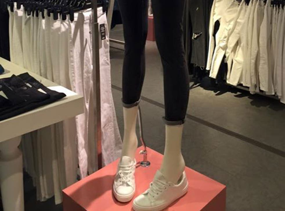 The fashion retailers have said they will now not place any further orders for the slim mannequin