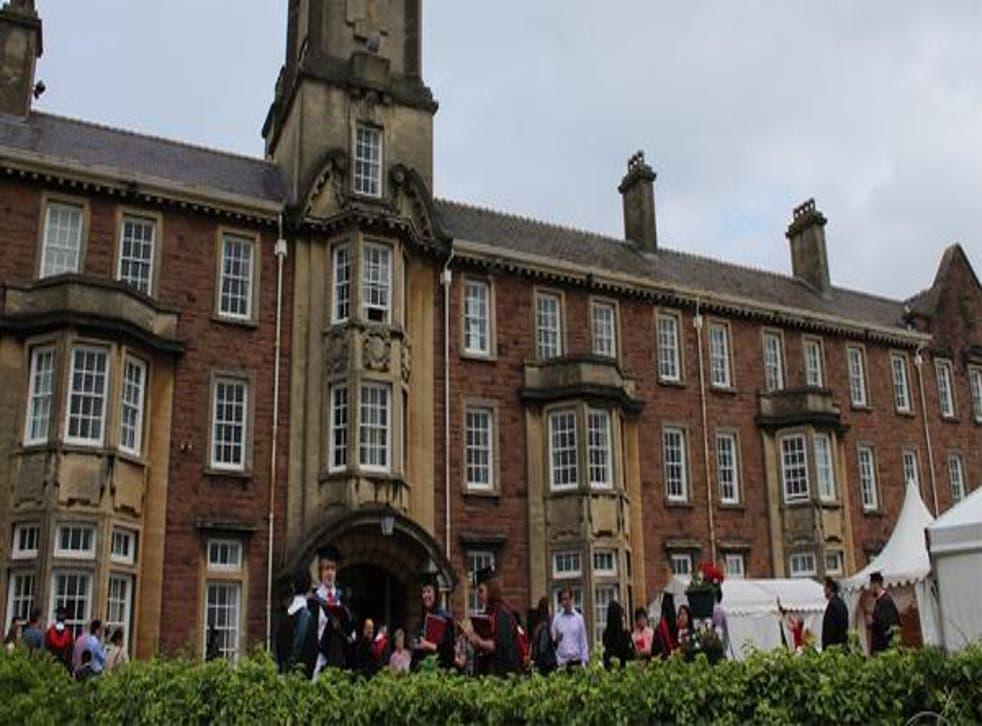 The university's Caerleon campus looks set to make 90 staff members redundant (@UniSouthWales via Twitter)