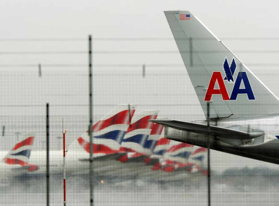 Partner airlines: AA and BA