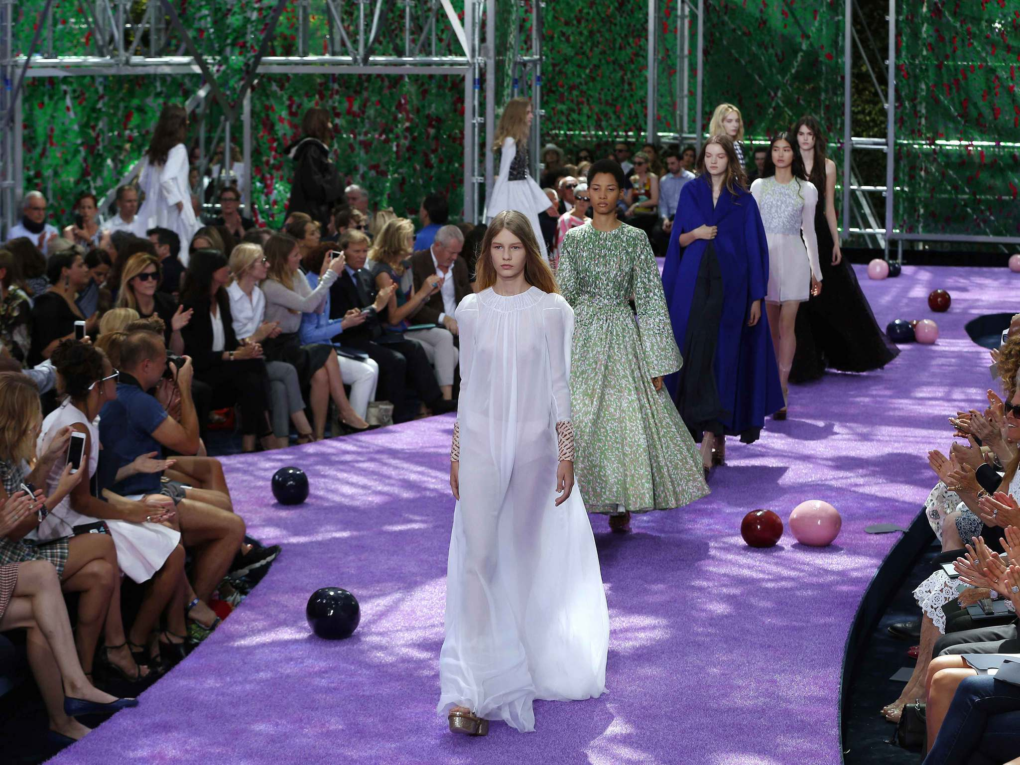 Dior criticised for recruiting 14-year-old model as face of the brand