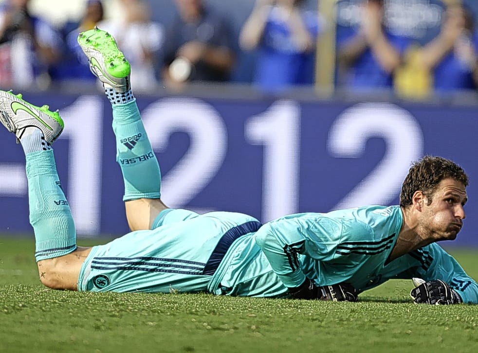 Asmir Begovic looked better in his second match for Chelsea against Paris Saint-Germain in a friendly at the weekend