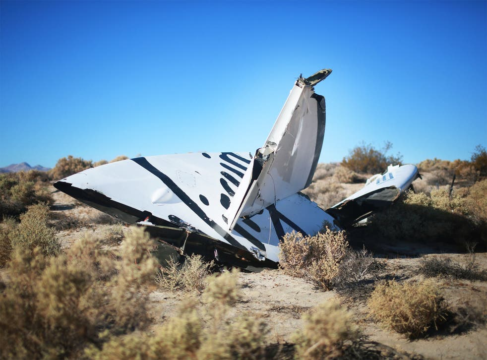 SpaceShipTwo crashed during a test flight, killing one pilot and seriously injuring another