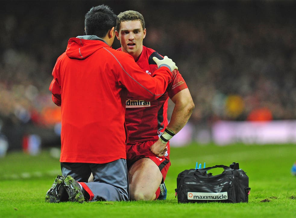 George North has been involved in a number of controversial concussion incidents in the past year