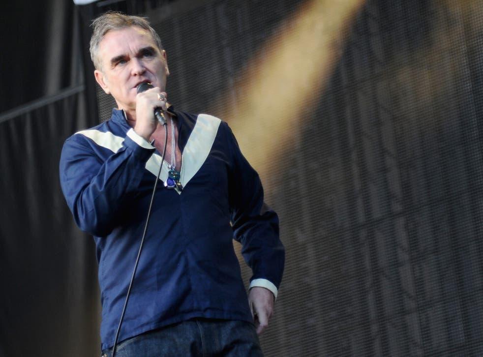 Ex-Smith's frontman Morrissey