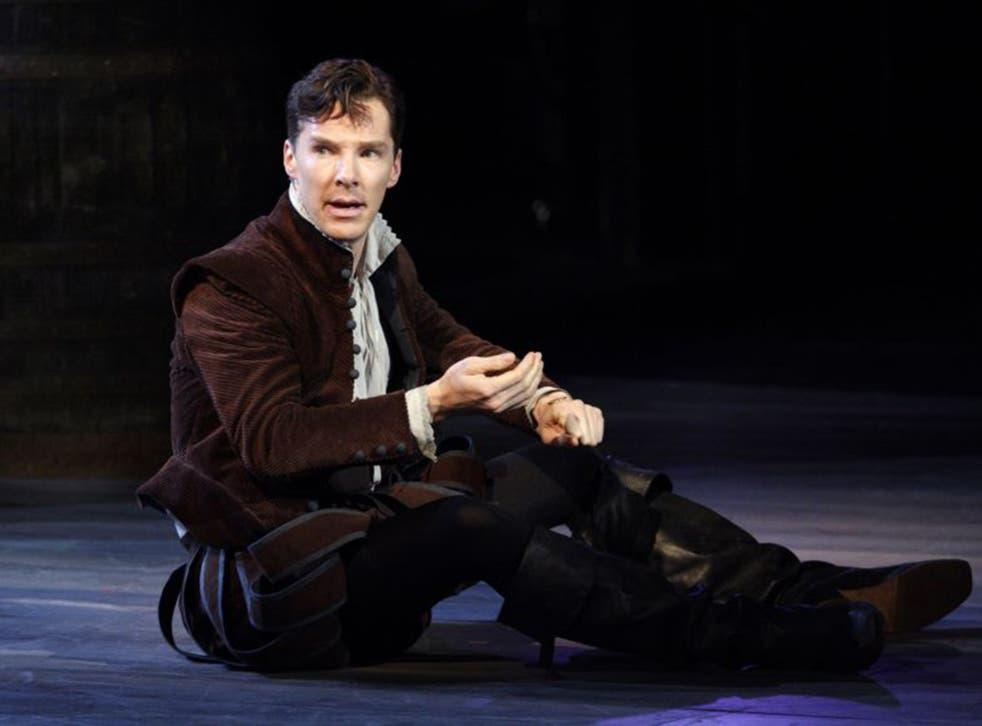 Benedict Cumberbatch must perform around 1,480 lines night after night as Hamlet