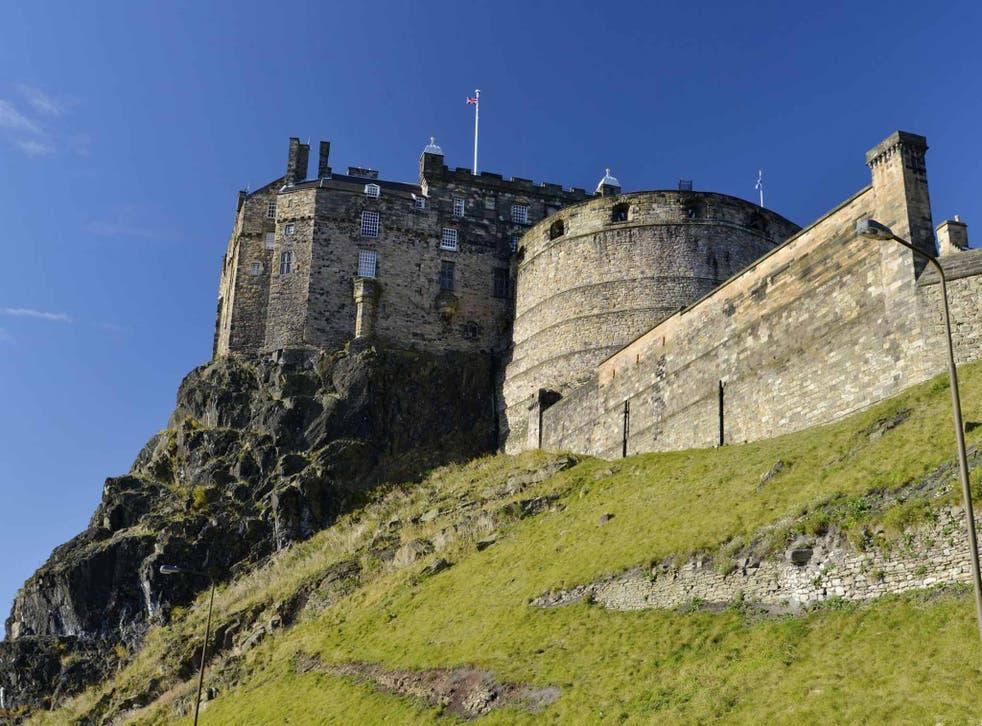 Grand designs: Edinburgh Castle