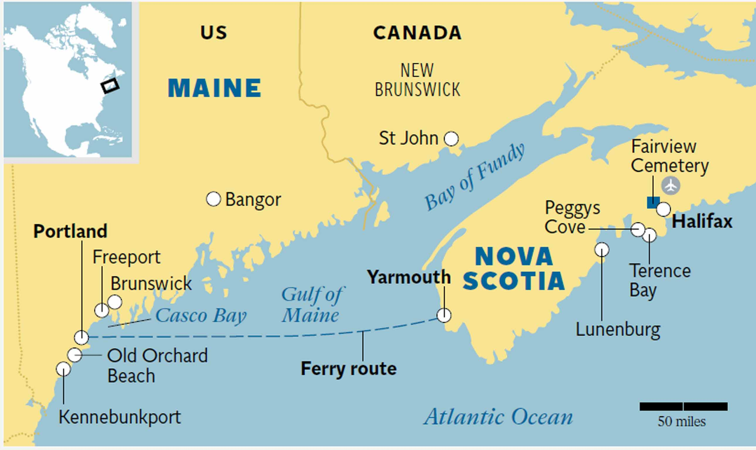 map of nova scotia and maine New England And Nova Scotia Explore Both Destinations On A Twin map of nova scotia and maine