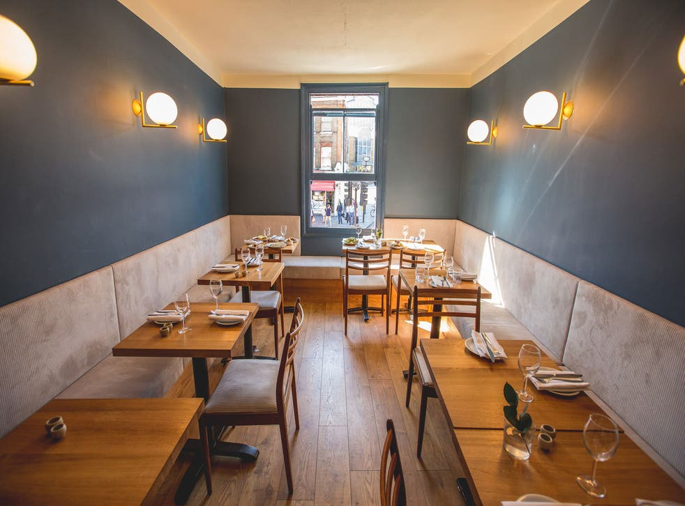 Oldroyd has taken the small is beautiful ethos and created a cool, calm little haven in north London