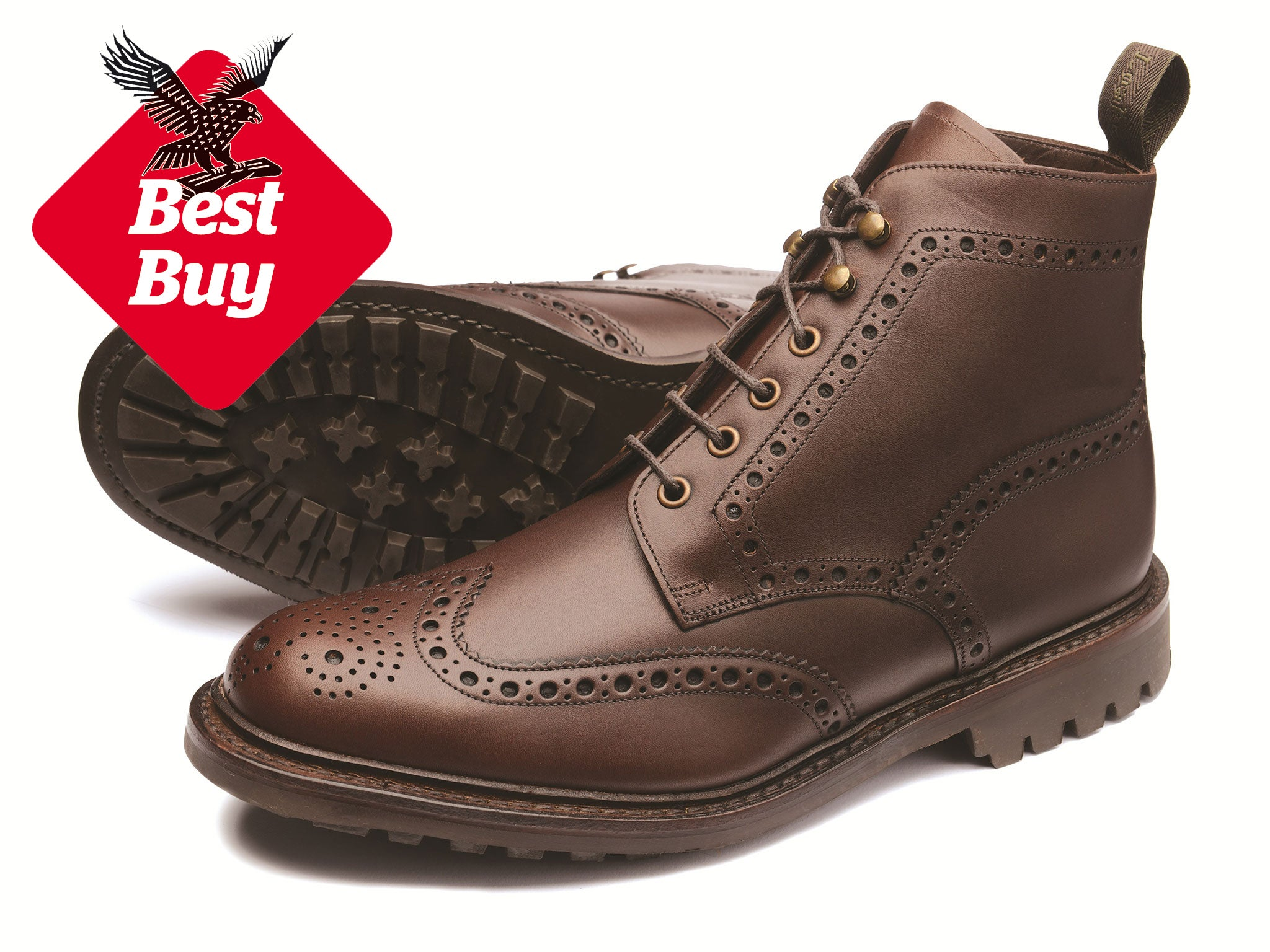 309b0640037f These traditional brogue derby boots ...