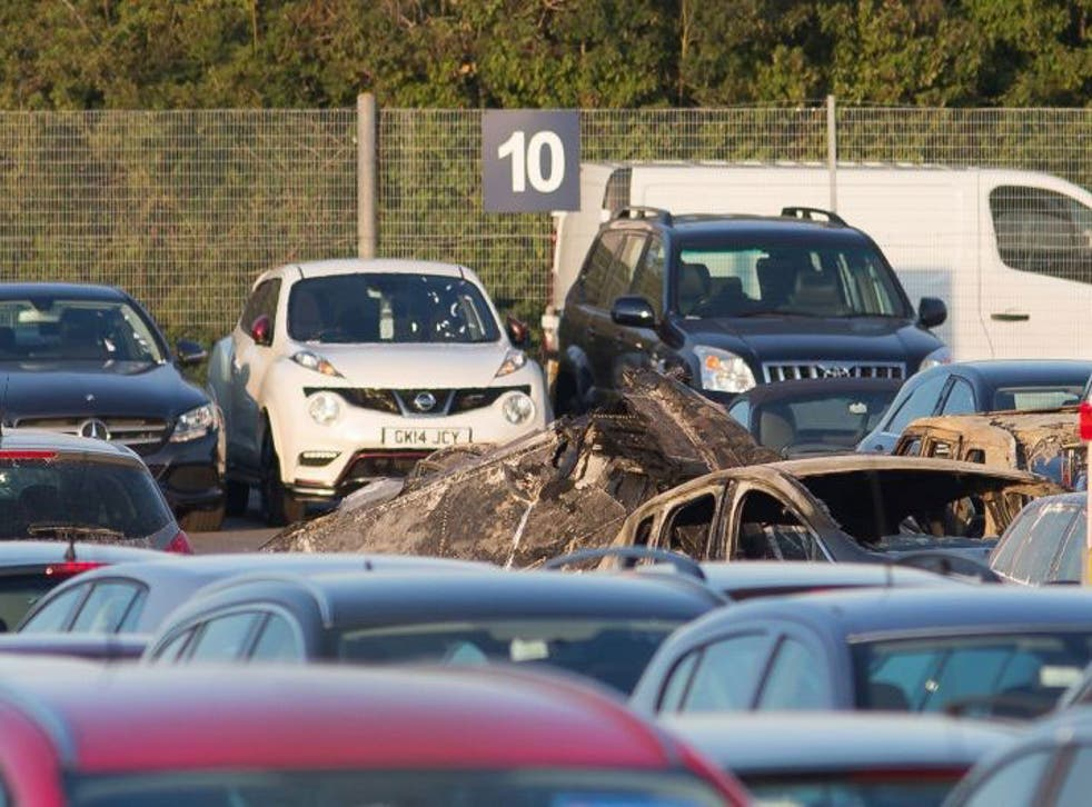 Everyone on board the plane died in the crash at Blackbushe Airport