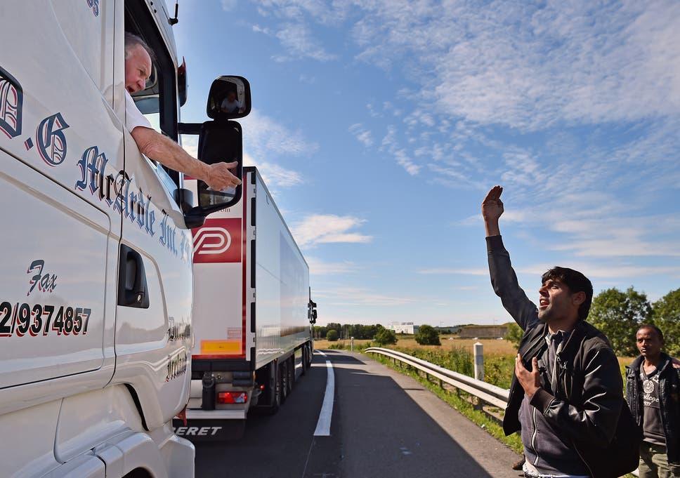 Calais migrant crisis: Britons having to cross the border