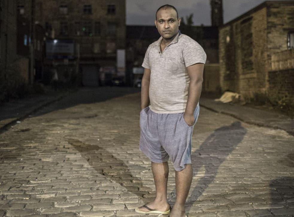 Abdulrahim Ali has been granted asylum and lives in Bradford