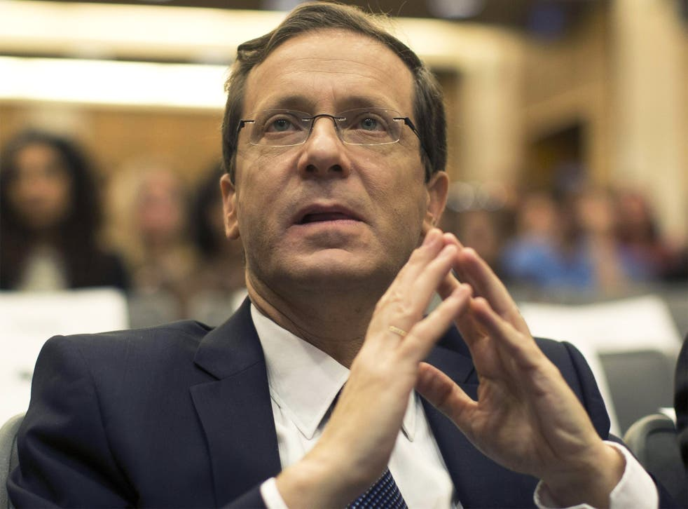 Isaac Herzog, leader of the Israeli Labor Party