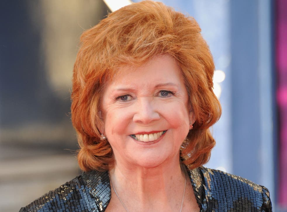 Cilla Black attends the Arqiva British Academy Television Awards at Theatre Royal on May 18, 2014 in London