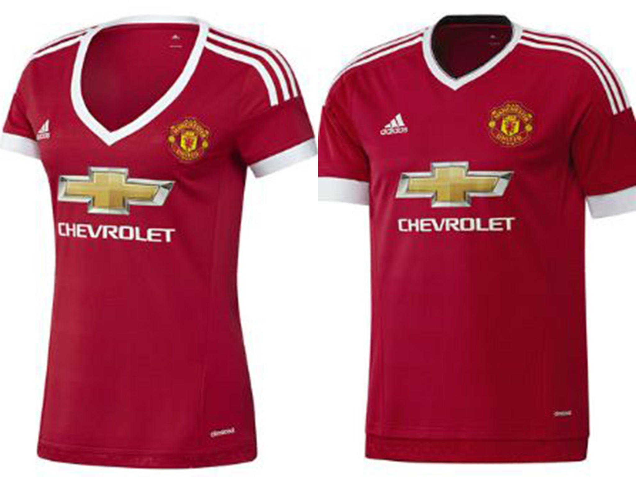 e540eb217 Manchester United  sexist  kit designed to give fans  a choice