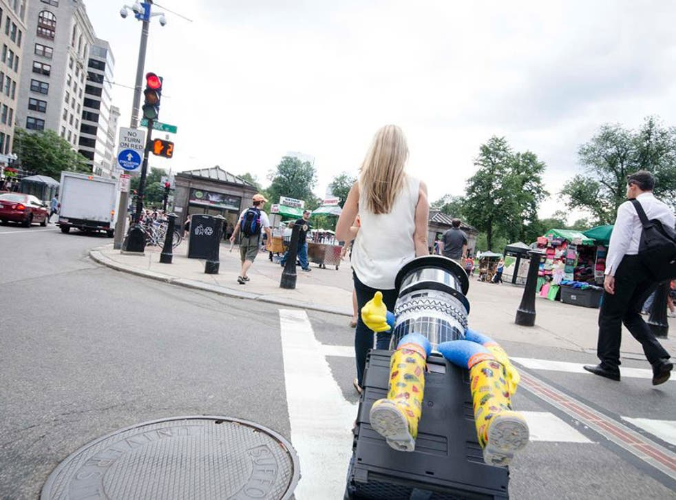 The hitchBOT had been on a tour of the US when it was vandalised in Philadelphia