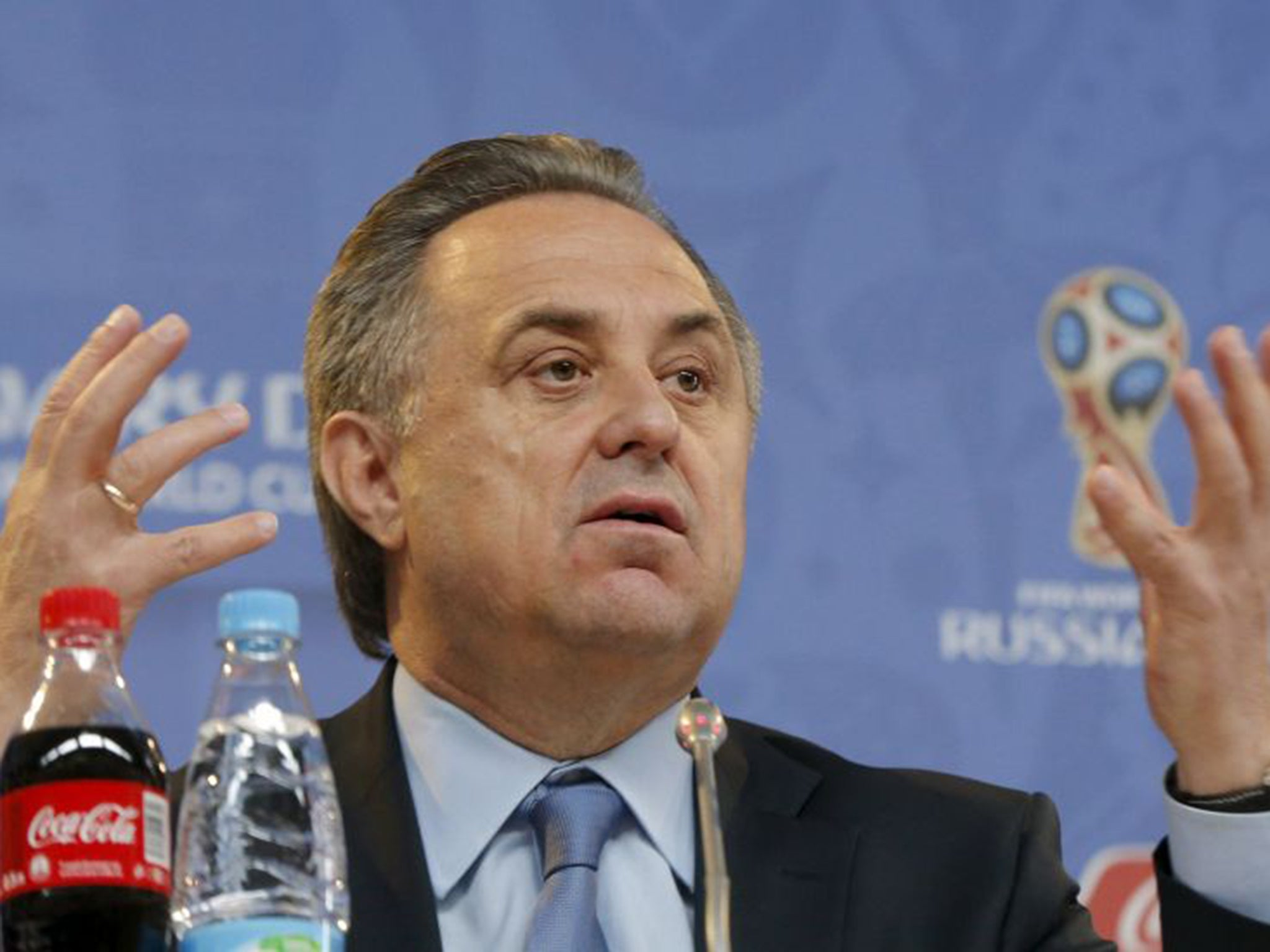 Vitaly Mutko again struck the public with his English 05/29/2015 91