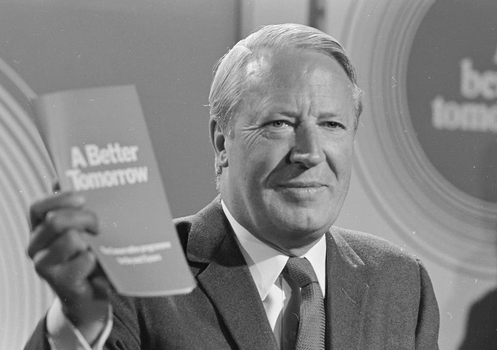 Former Conservative Prime Minister Sir Edward Heath Is Being Investigated For Alleged Historic Child Abuse