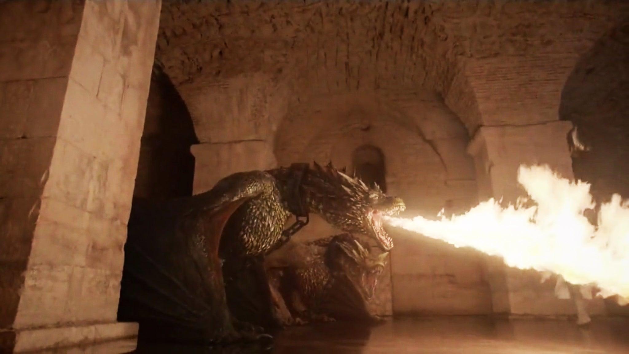 Targaryen Wallpaper Smartphone: Game Of Thrones Season 6 Spoilers: It Looks Like Drogon