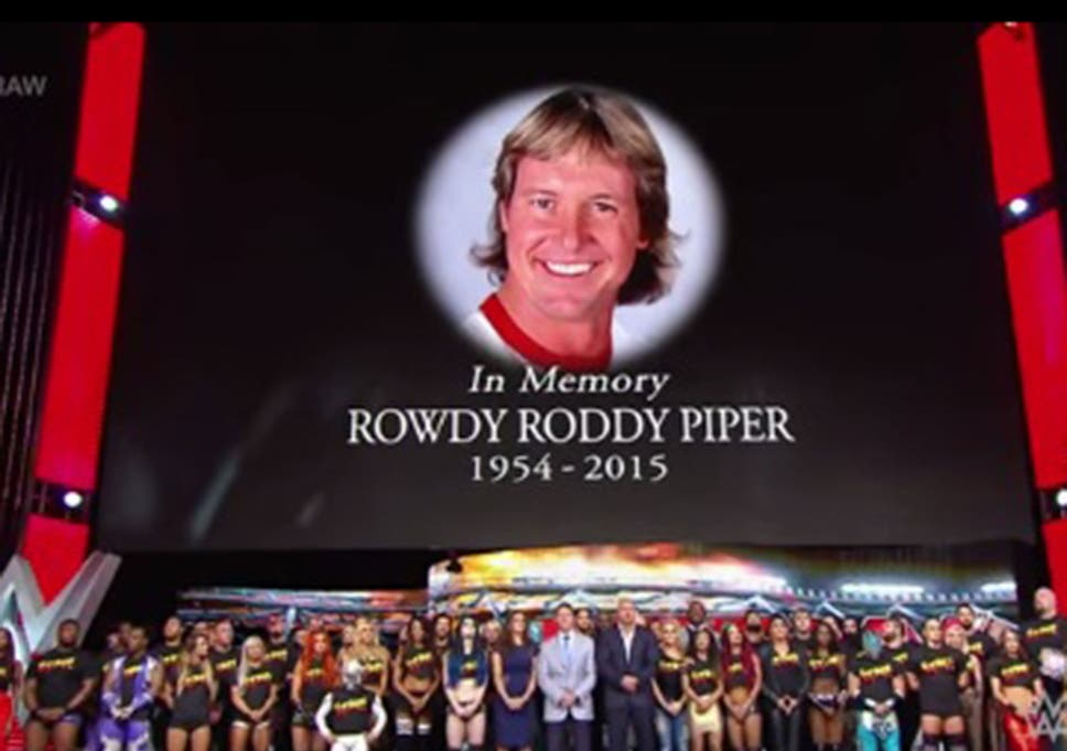 Rowdy Roddy Piper dies: Watch the entire WWE locker room pay tribute to  wrestling legend in touching 10-bell salute on Raw
