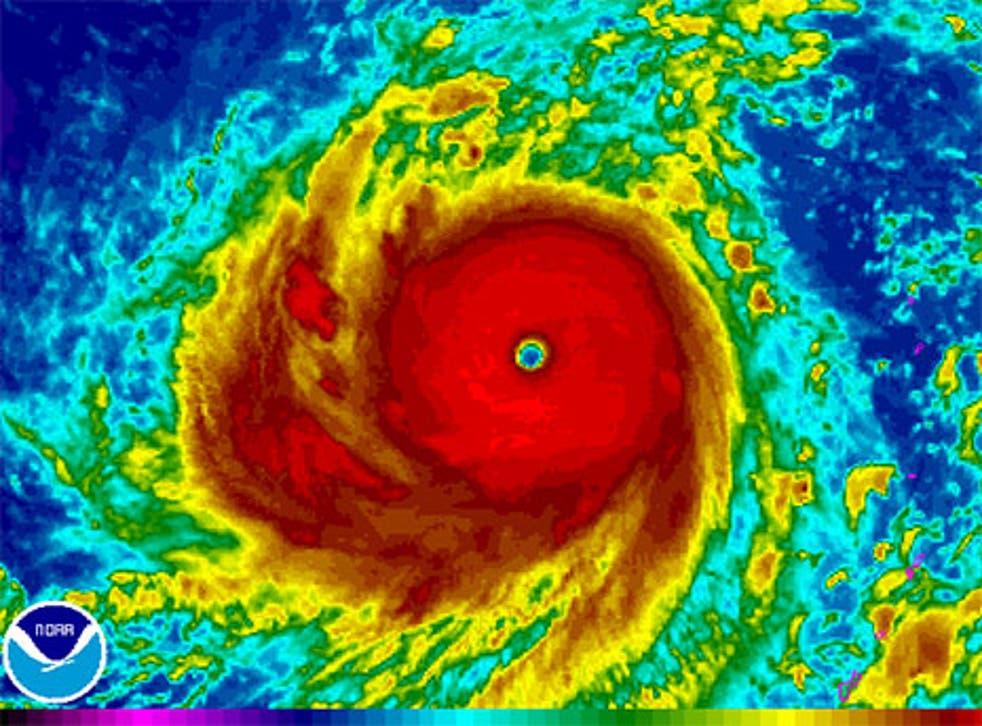 Typhoon Soudelor devastated the island of Saipan