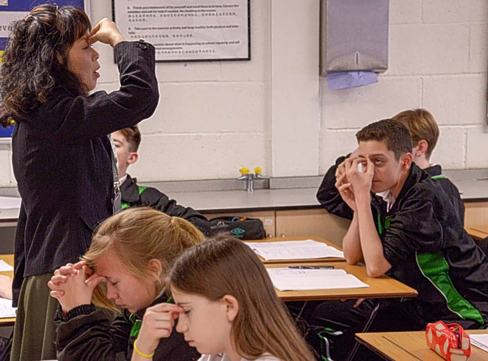 Well disciplined: Chinese teachers brought their methods to Bohunt School