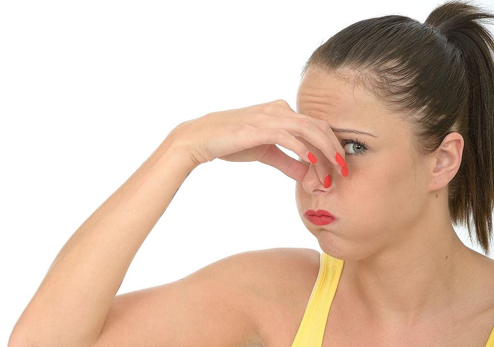 What diseases provoke an unpleasant smell from the...
