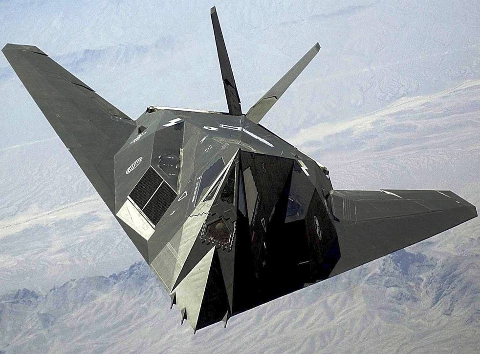 Fly bye: the F-117 Nighthawk stealth fighter could become an outdated weapon