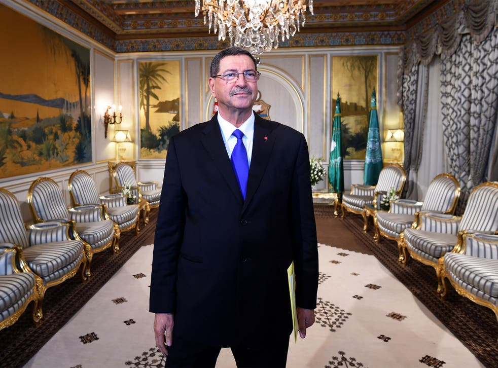 Tunisian Prime Minister Habib Essid says the authorities are working closely with Britain to trace terror networks
