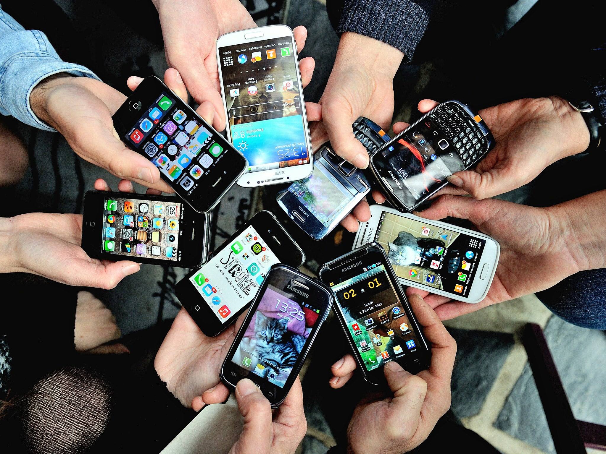 Half of the adult population admit to being hooked on their smartphones