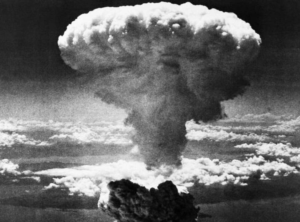 The bomb was dropped on Hiroshima at 8:15am on 6th August 1945