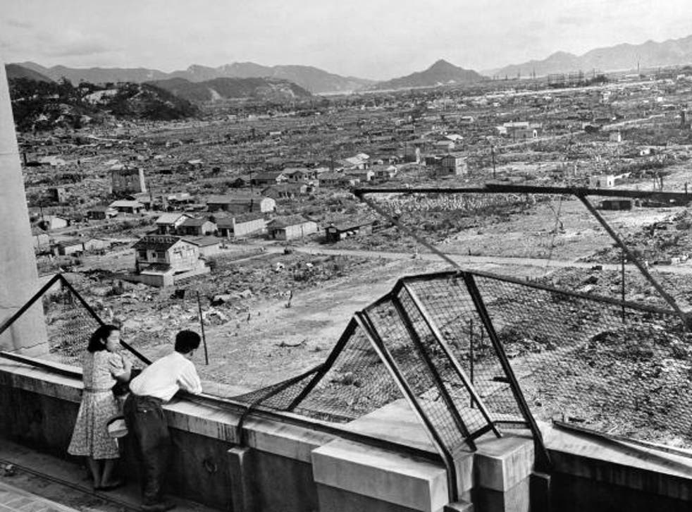 Hiroshima three years after the attack