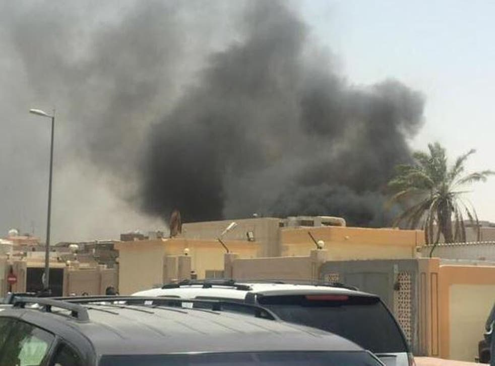 The bomb blast in Asseer