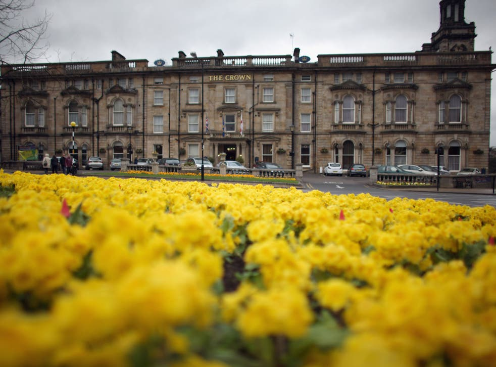 Harrogate is the happiest place in the UK