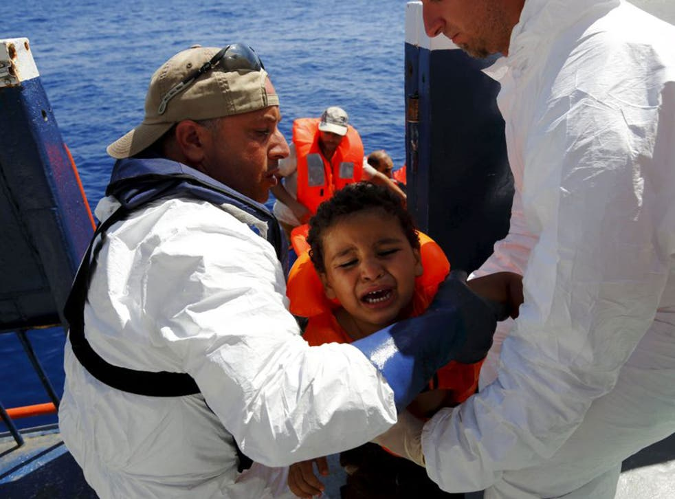 The captain has co-founded a humanitarian group aiming to take its own rescue boat to the Mediterranean