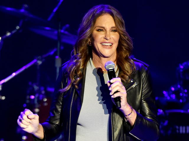 Caitlyn Jenner at a Culture Club concert in Los Angeles in July 2015