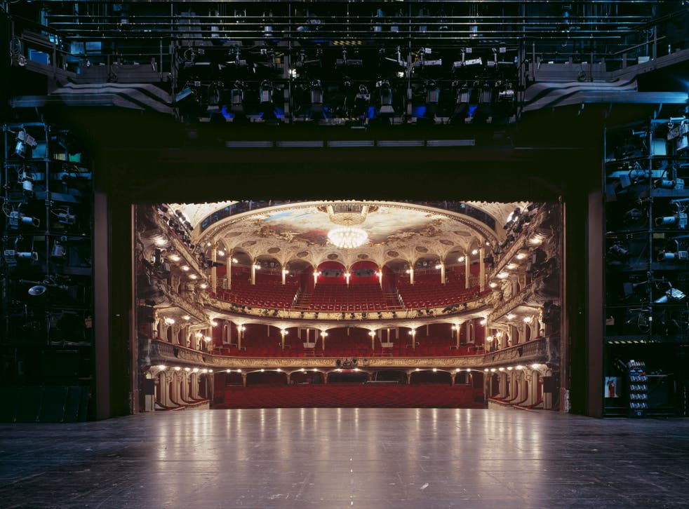 In Frahm's series of shots of theatres across his native Germany the fourth wall is very visible: it is the auditorium itself