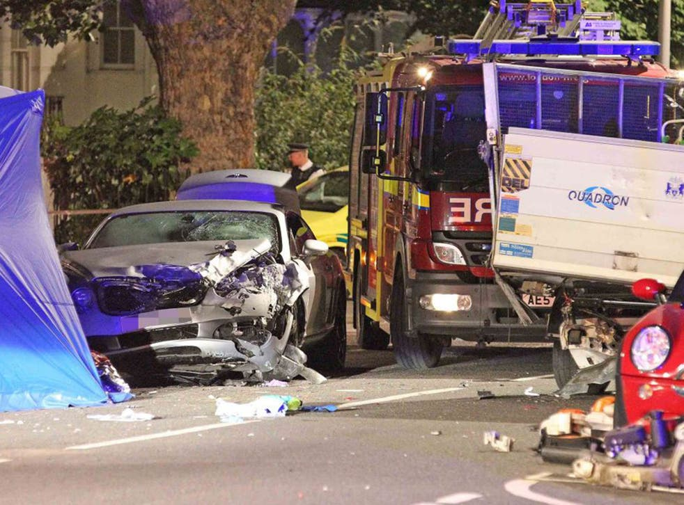Police are yet to confirm if the man charged was the registered owner of the luxury vehicle (Evening Standard/Eyevine)
