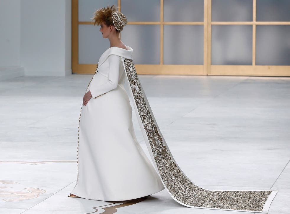 Time travel: echoes of the 1700s at Chanel a/w '14 couture