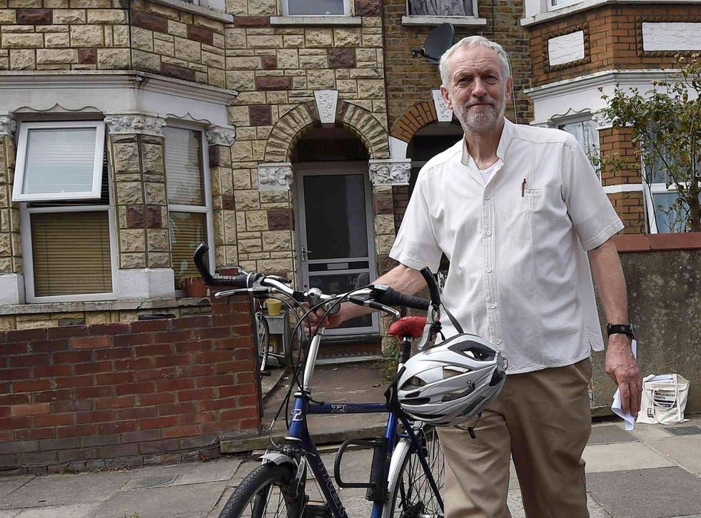 Jeremy Corbyn arrives for a meeting in London