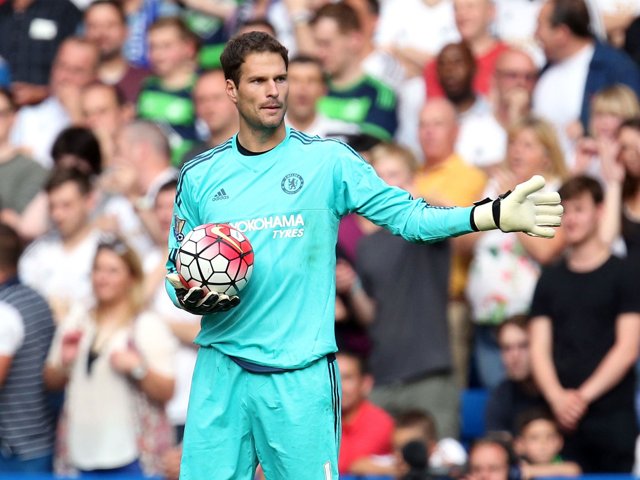 Chelsea 2 Swansea 2 Jose Mourinho backs Asmir Begovic with
