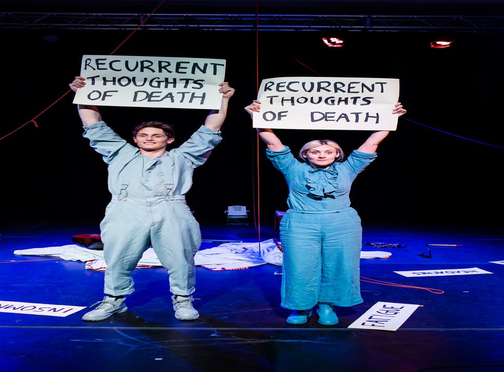 Tim Grayburn and Bryony Kimmings in 'Fake It 'Til You Make It'