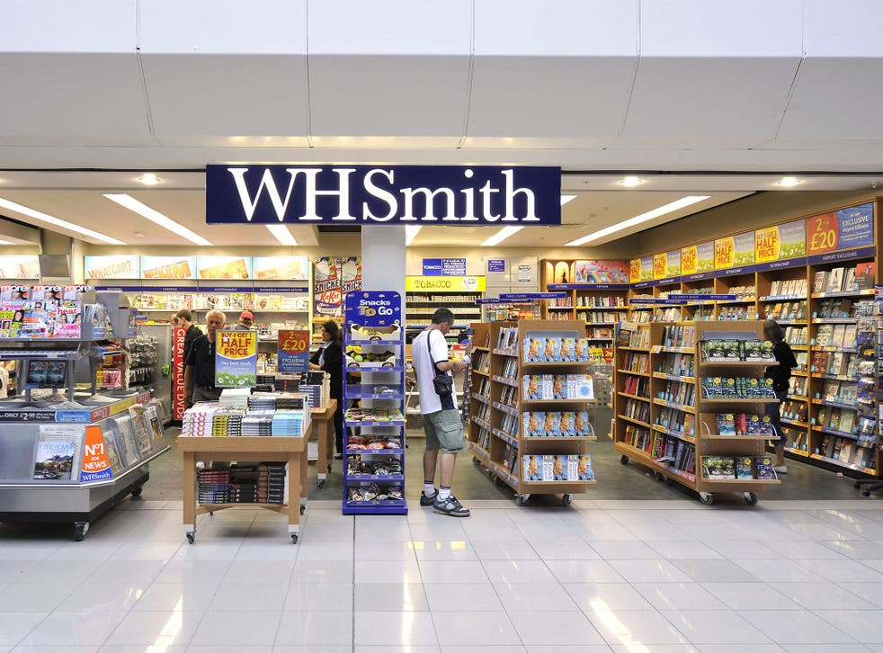 Travellers have already reported protests in branches of WHSmith, including at Heathrow