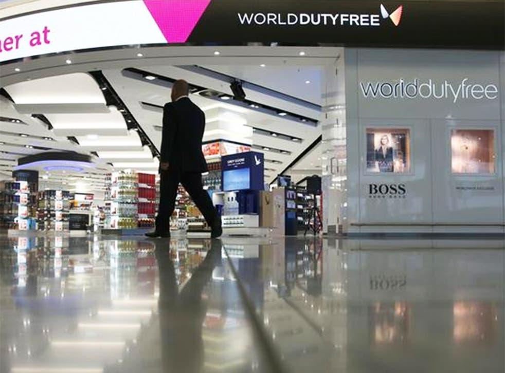 World Duty Free at Heathrow Terminal 2