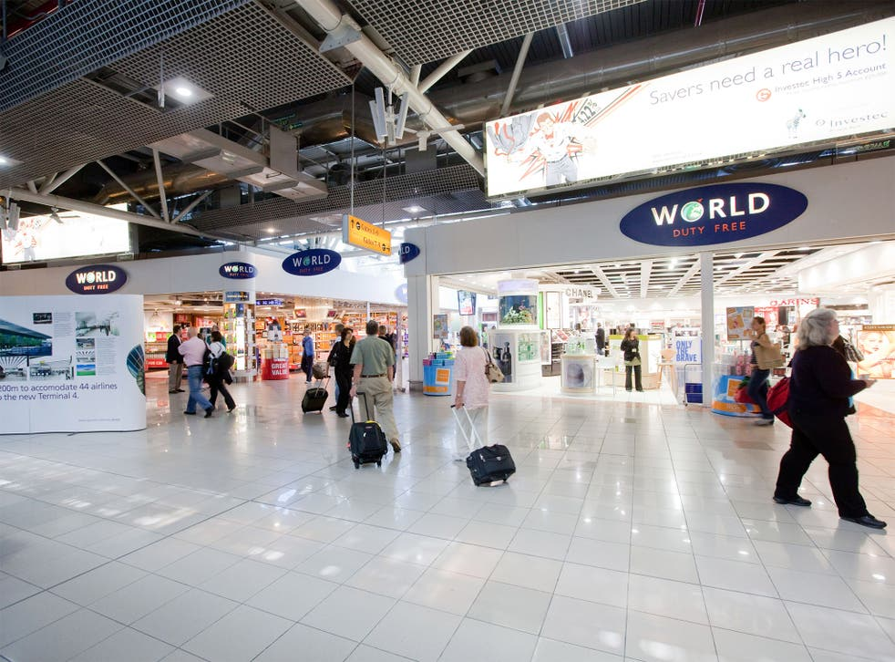 Heathrow Terminal4; each retailer at the airport is paying £1m a year in rent, on average