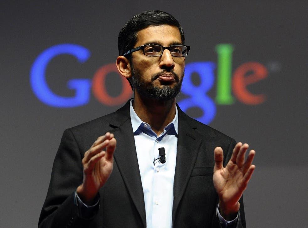 Google's CEO Sundar Pichai has expressed his concerns over Donald Trump's refugee ban